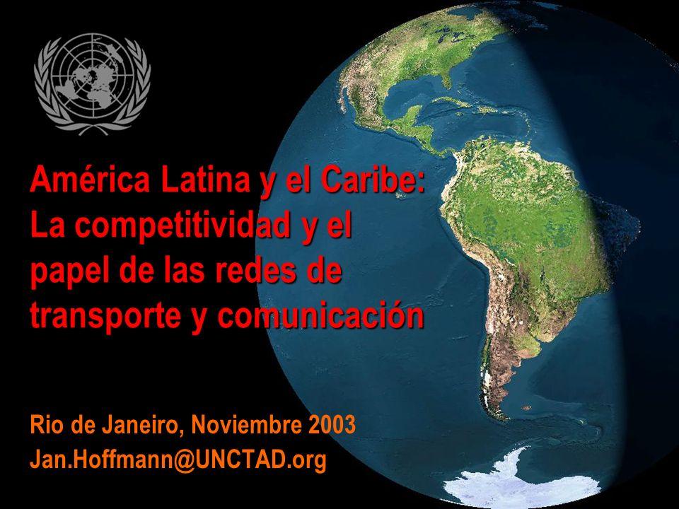 Rio de Janeiro, Noviembre 2003 Jan.Hoffmann@UNCTAD.org