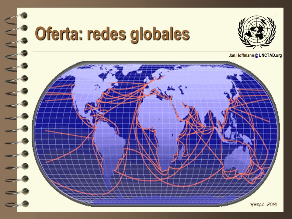 Oferta: redes globales