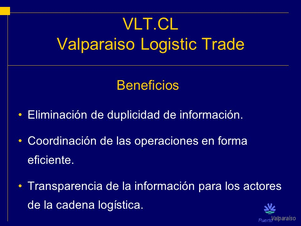 Valparaiso Logistic Trade
