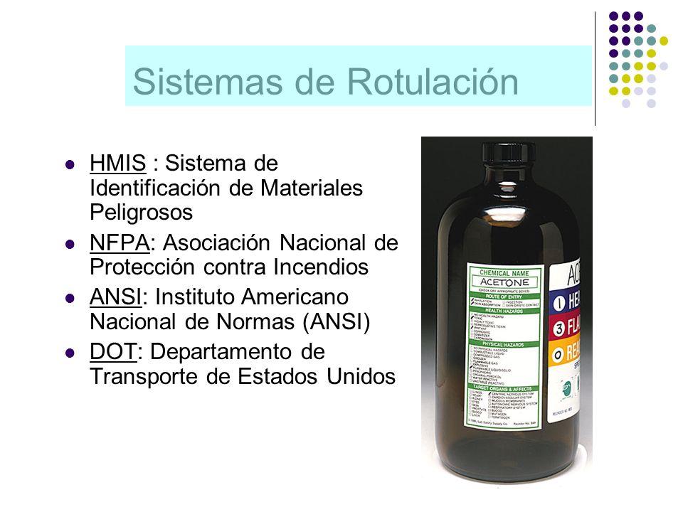 Sistemas de Rotulación
