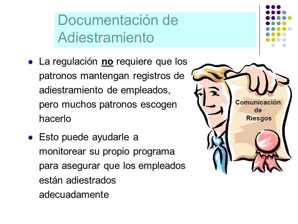 Documentación de Adiestramiento