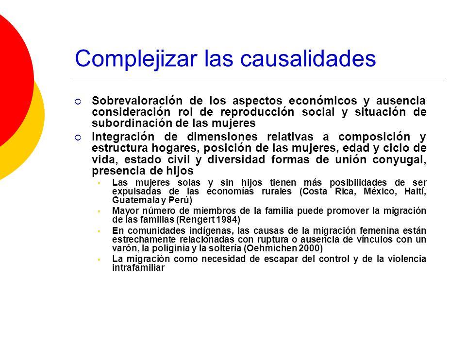 Complejizar las causalidades
