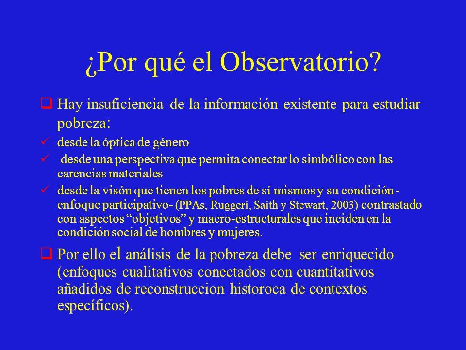¿Por qué el Observatorio