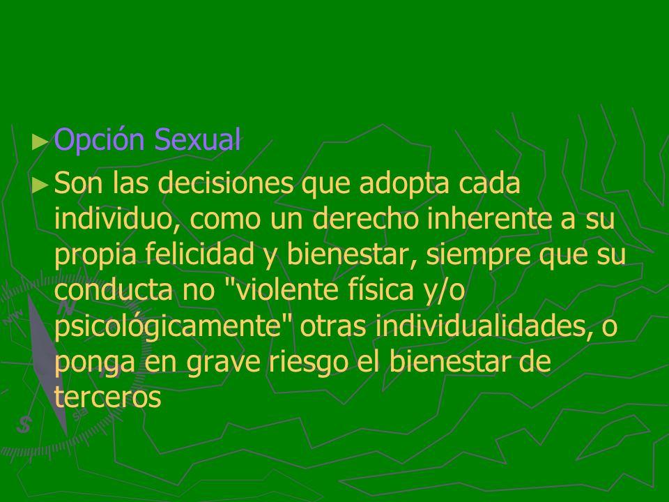 Opción Sexual
