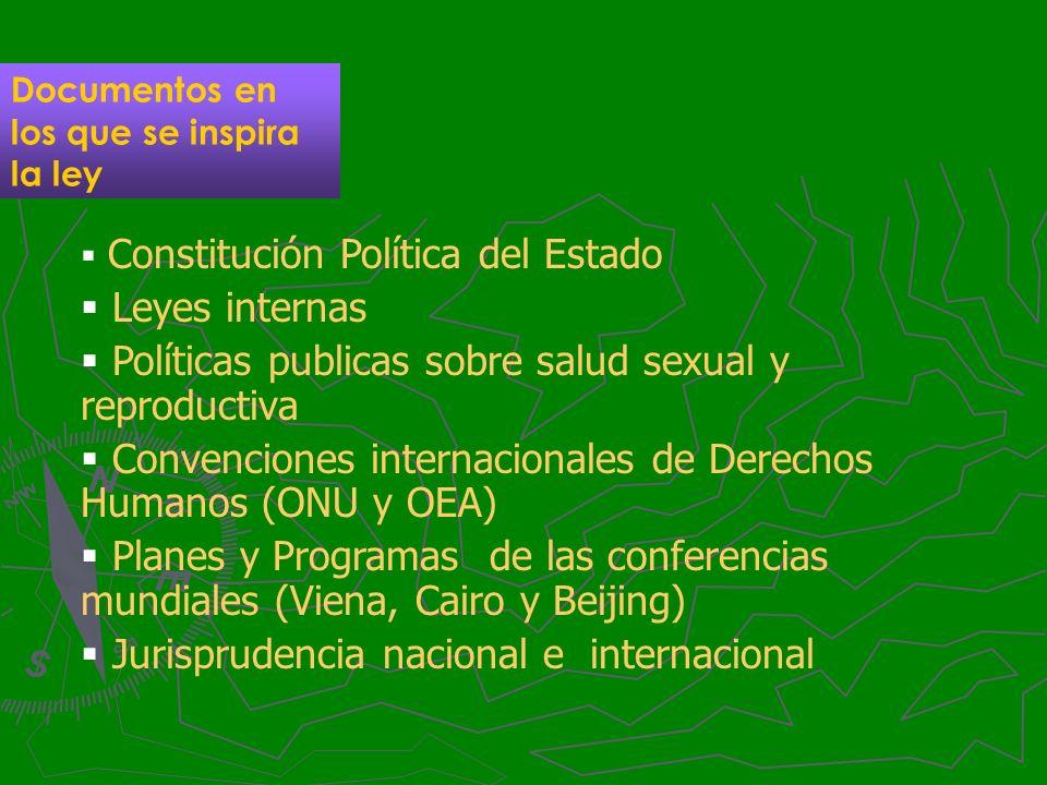 Políticas publicas sobre salud sexual y reproductiva