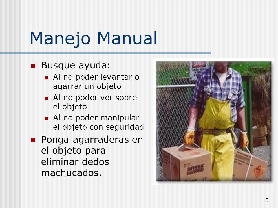 Manejo Manual Busque ayuda: