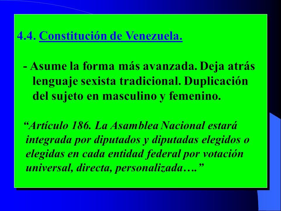 4.4. Constitución de Venezuela.