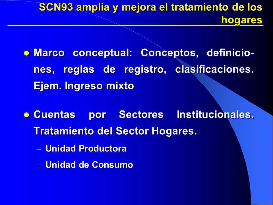 SCN93 amplia y mejora el tratamiento de los hogares