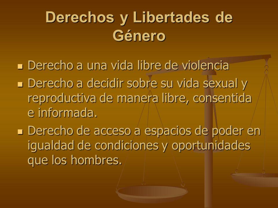 Derechos y Libertades de Género