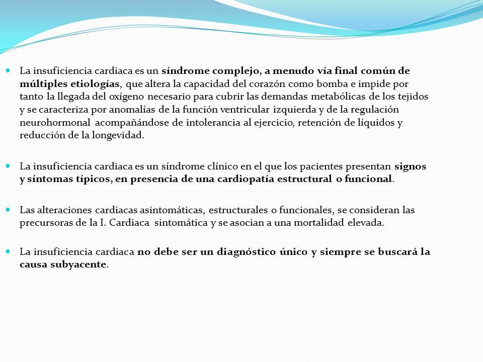 MANEJO DE LA INSUFICIENCIA CARDIACA - ppt descargar