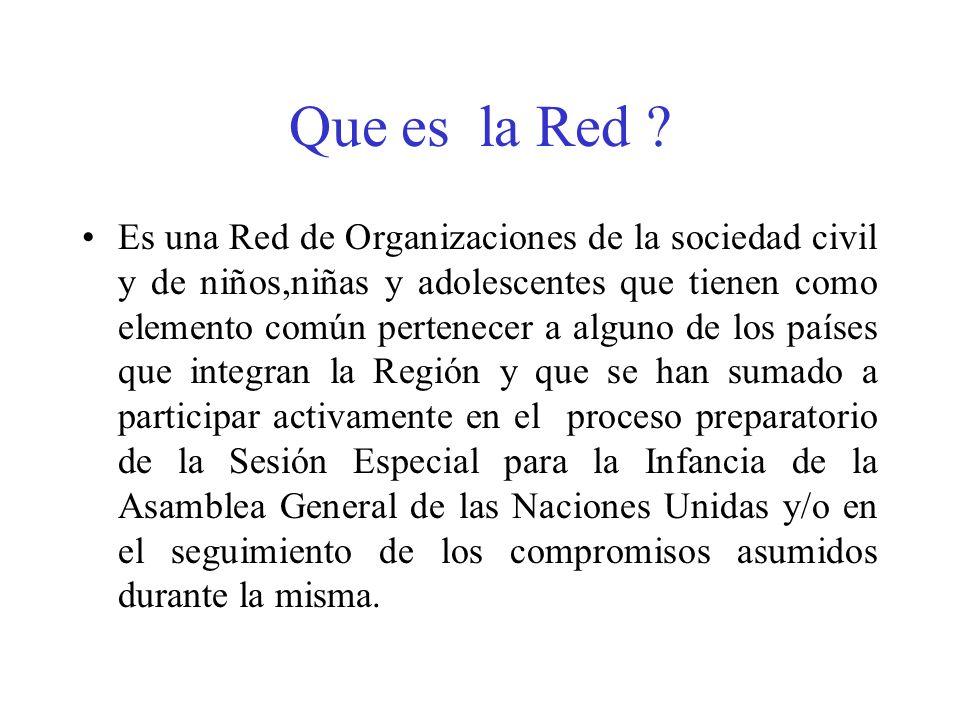 Que es la Red