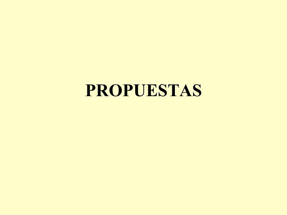 PROPUESTAS