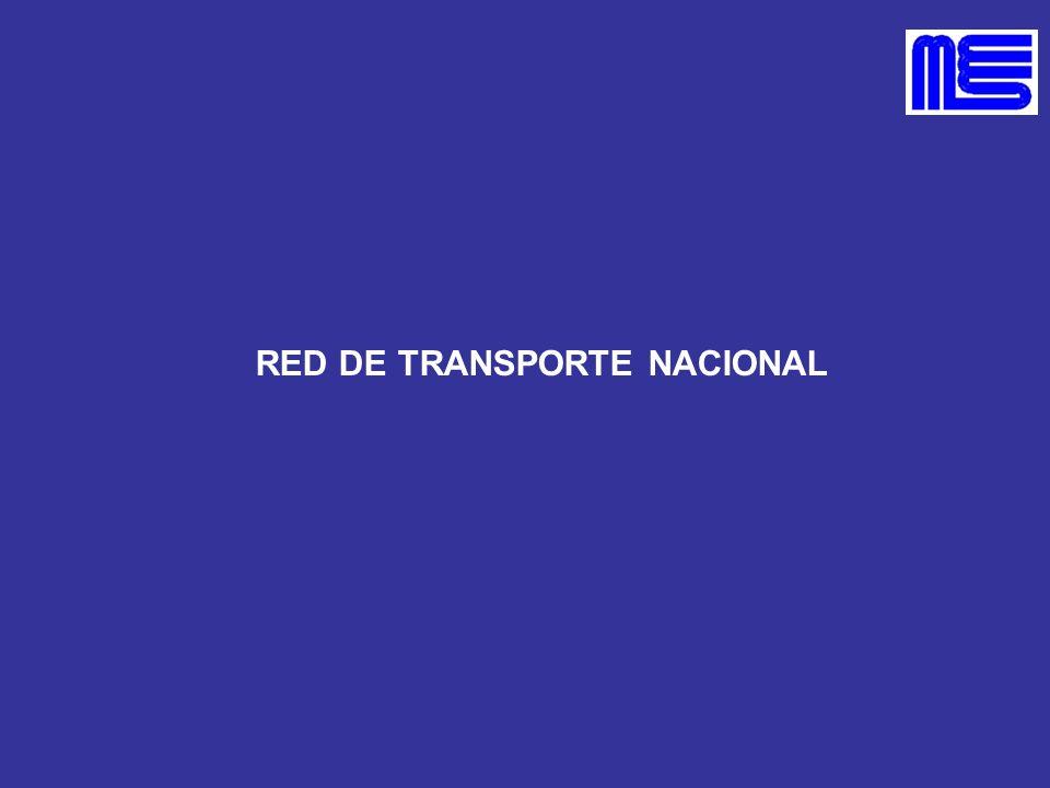 RED DE TRANSPORTE NACIONAL