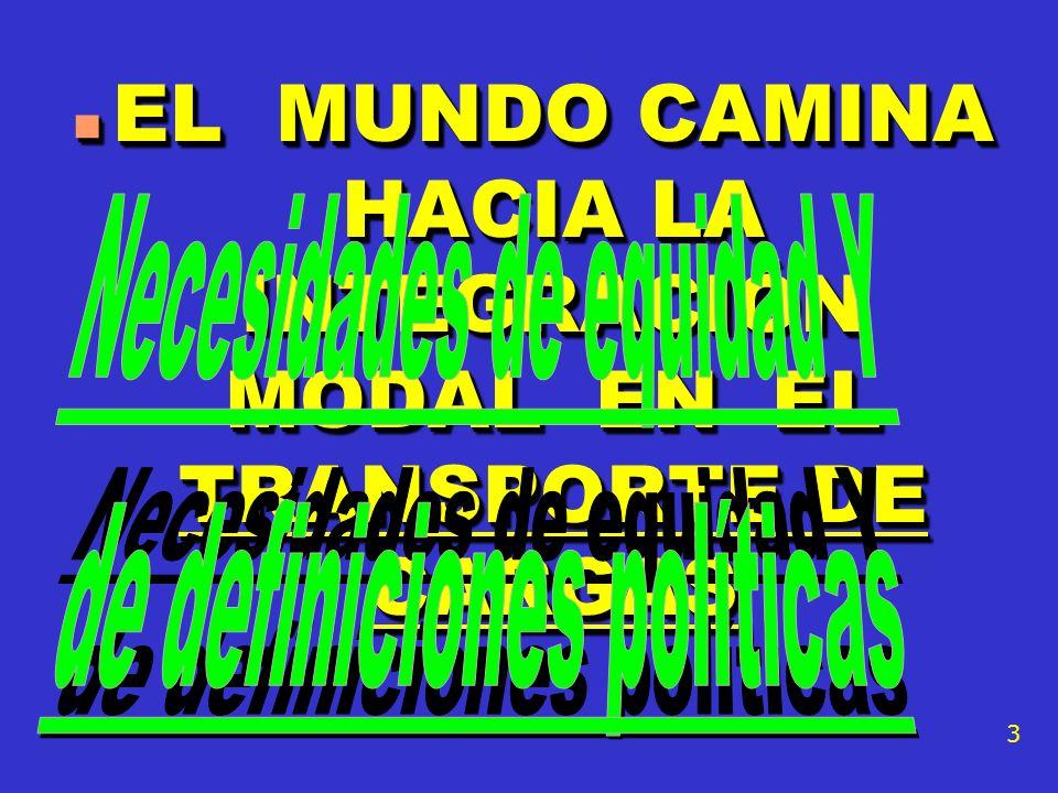 EL MUNDO CAMINA HACIA LA INTEGRACIÓN MODAL EN EL TRANSPORTE DE CARGAS