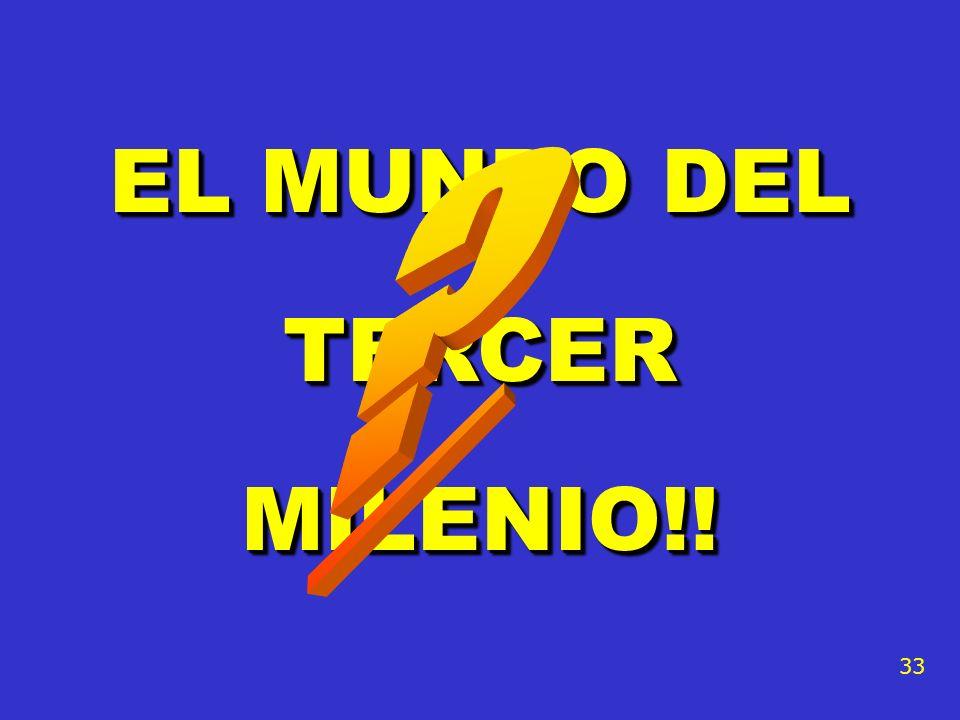 EL MUNDO DEL TERCER MILENIO!!