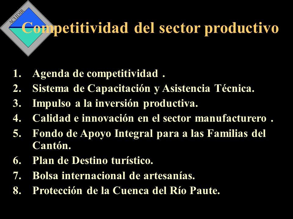 Competitividad del sector productivo