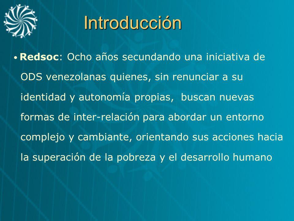Introducción ODS venezolanas quienes, sin renunciar a su
