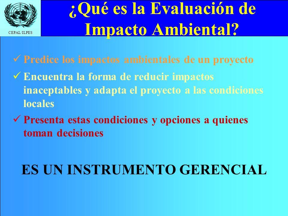 ¿Qué es la Evaluación de Impacto Ambiental