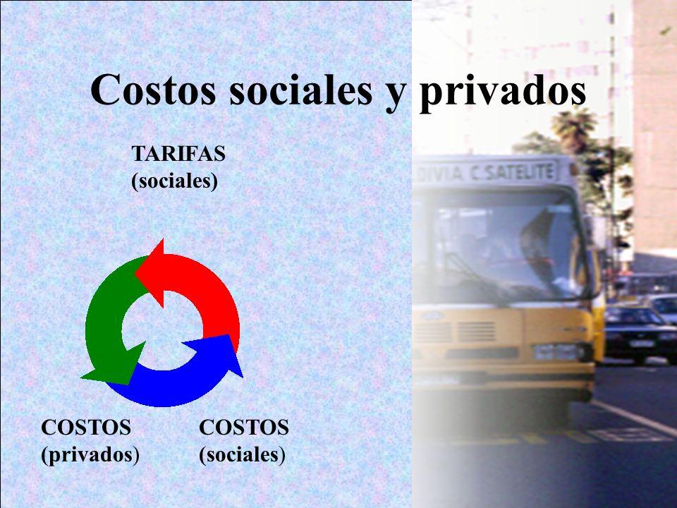 Costos sociales y privados