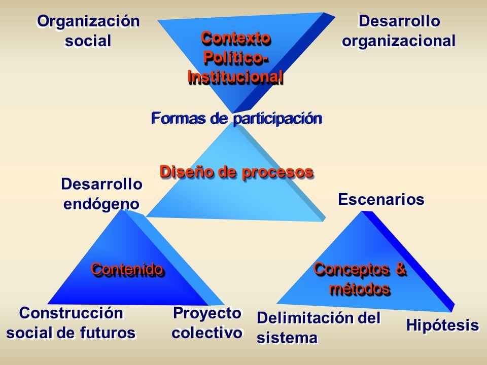 Desarrollo organizacional Político-Institucional