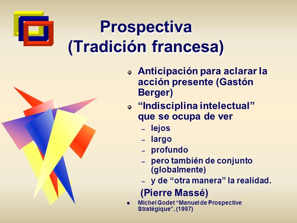 Prospectiva (Tradición francesa)