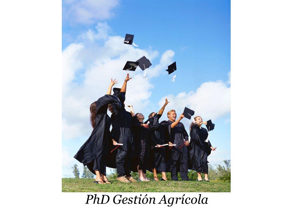 PhD Gestión Agrícola