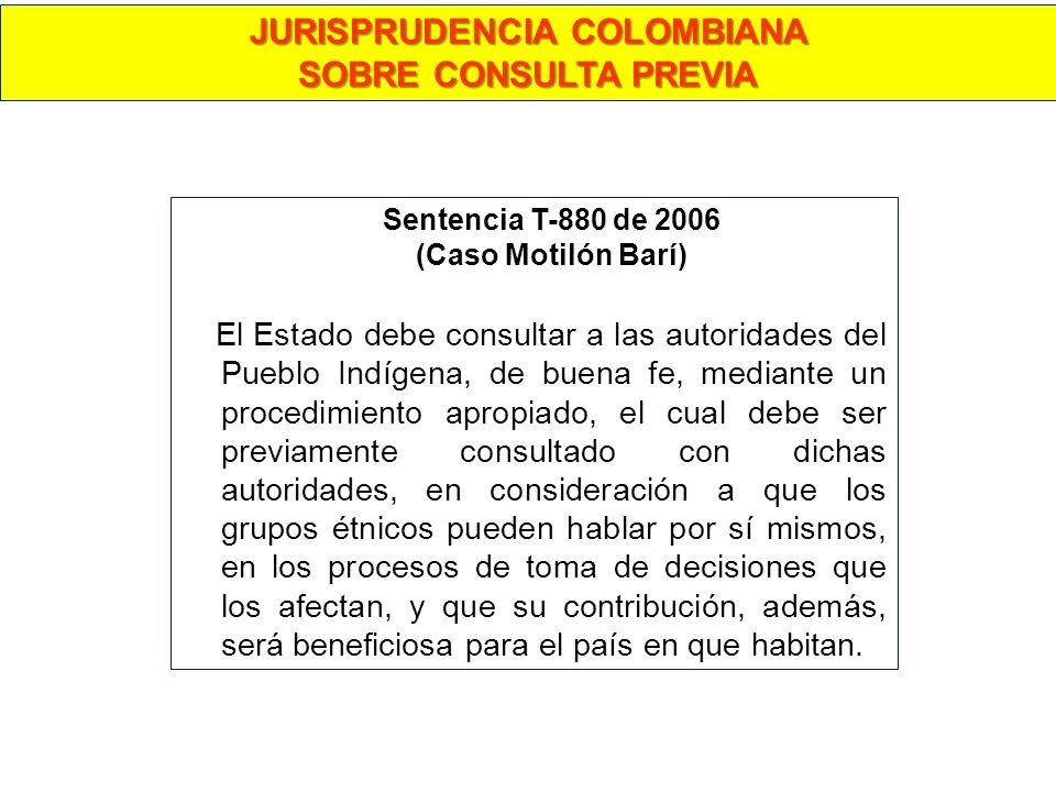 JURISPRUDENCIA COLOMBIANA