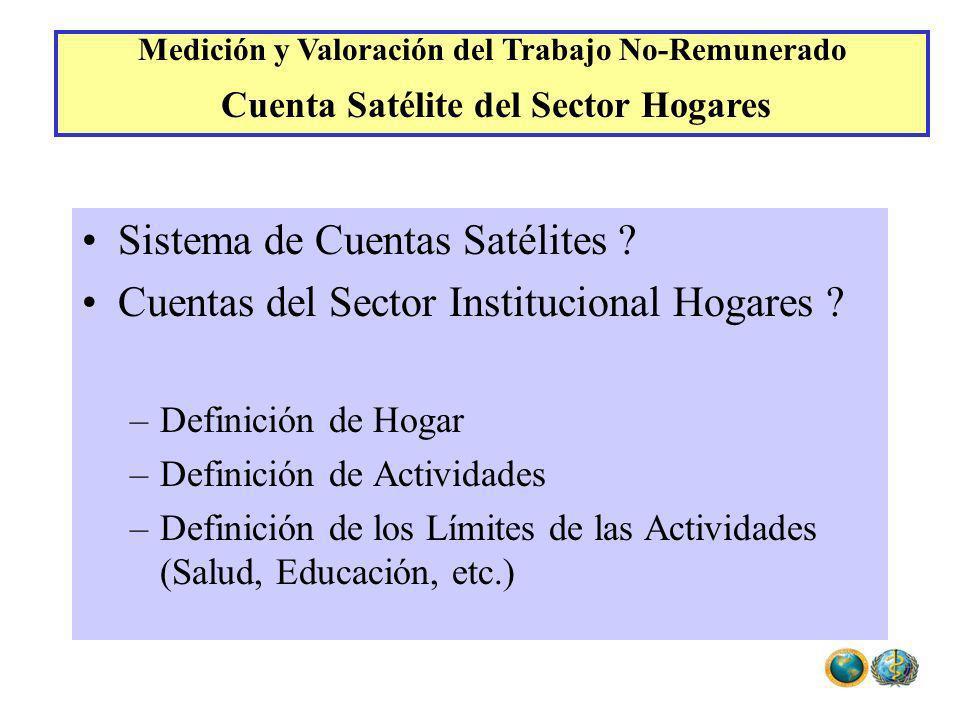 Sistema de Cuentas Satélites