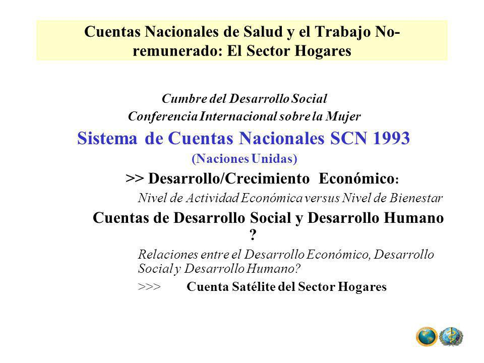 Sistema de Cuentas Nacionales SCN 1993