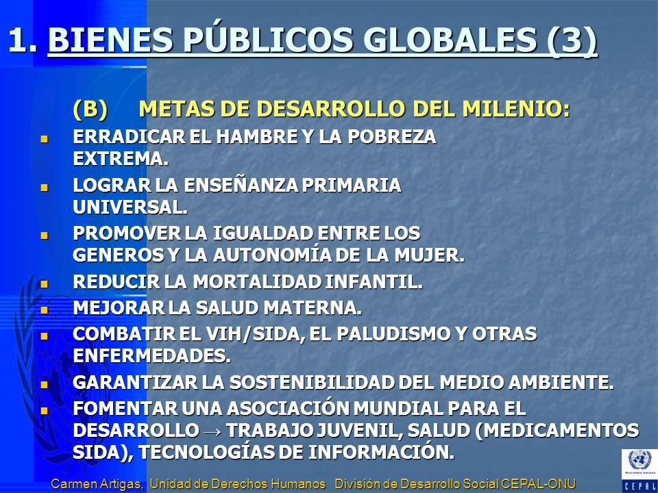 1. BIENES PÚBLICOS GLOBALES (3)