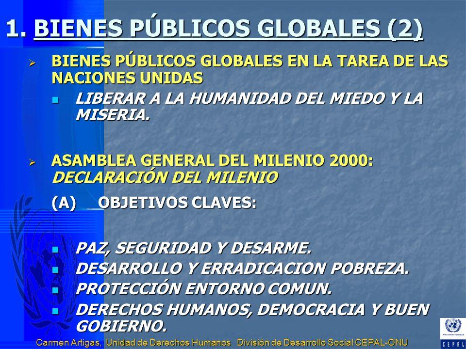 1. BIENES PÚBLICOS GLOBALES (2)