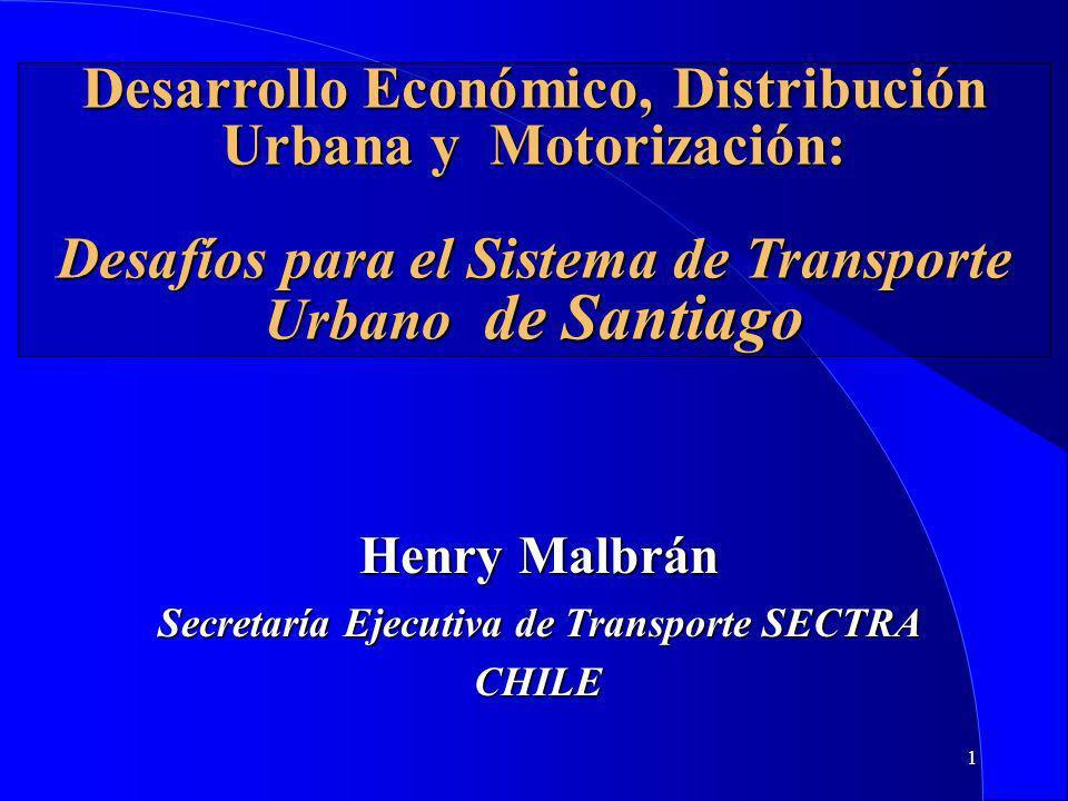 Secretaría Ejecutiva de Transporte SECTRA