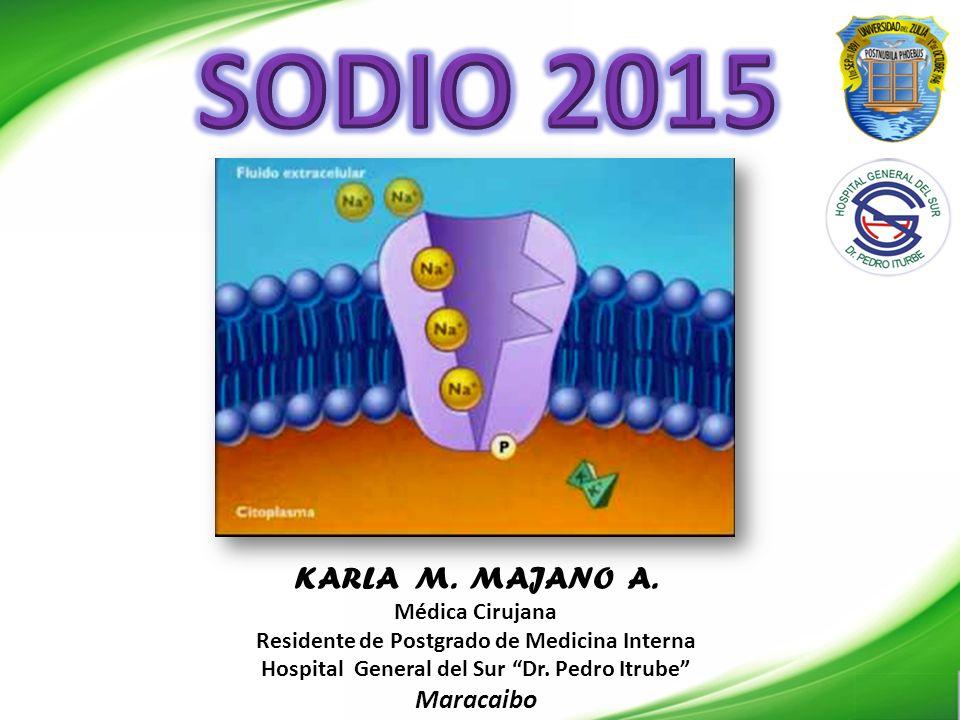 SODIO 2015 KARLA M. MAJANO A. Maracaibo Médica Cirujana