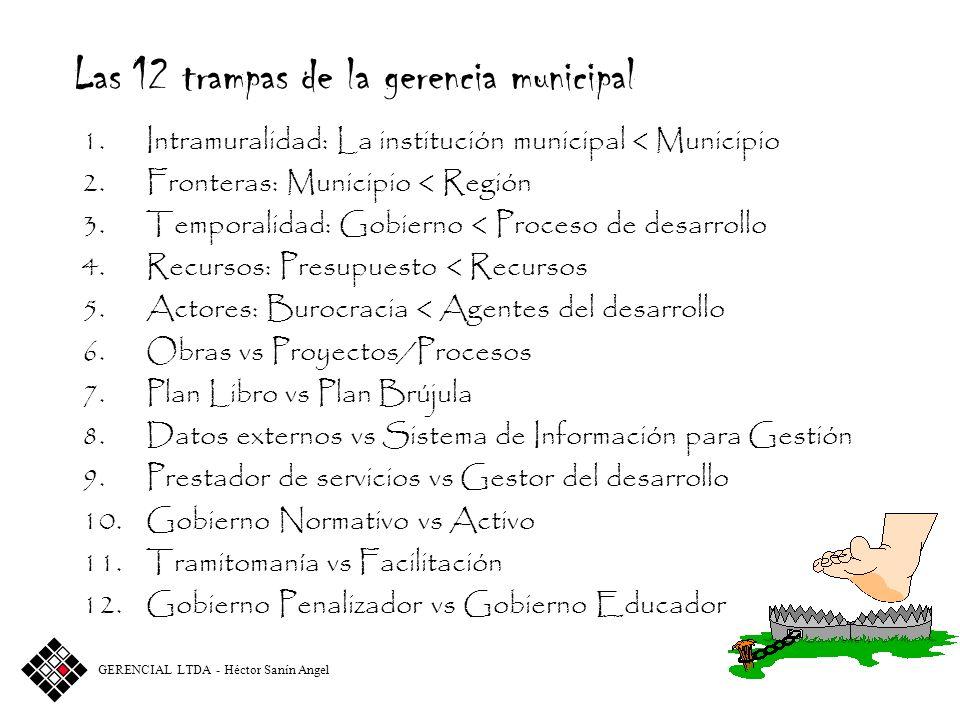 Las 12 trampas de la gerencia municipal