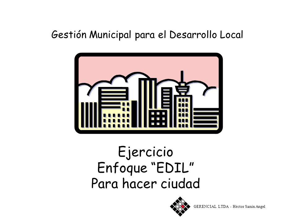 Gestión Municipal para el Desarrollo Local