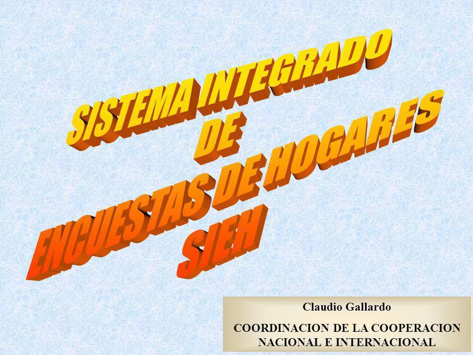 COORDINACION DE LA COOPERACION NACIONAL E INTERNACIONAL