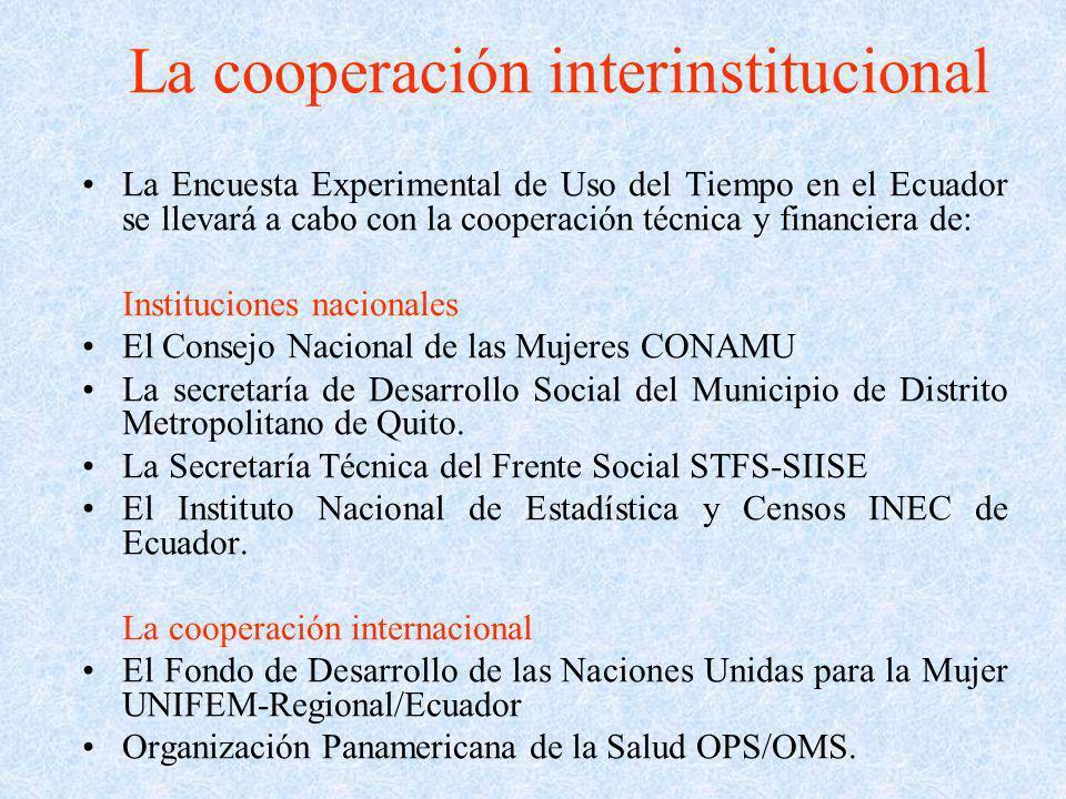 La cooperación interinstitucional