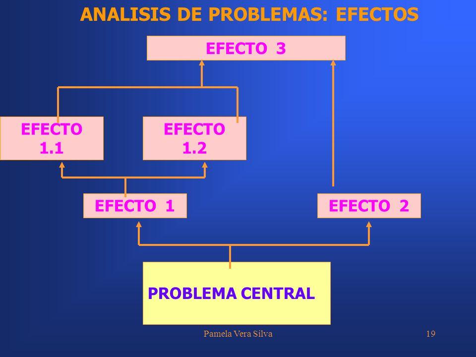 ANALISIS DE PROBLEMAS: EFECTOS