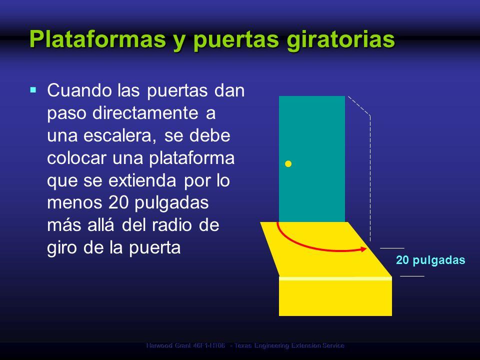 Plataformas y puertas giratorias