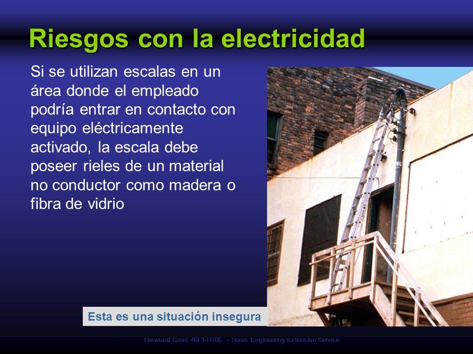 Riesgos con la electricidad