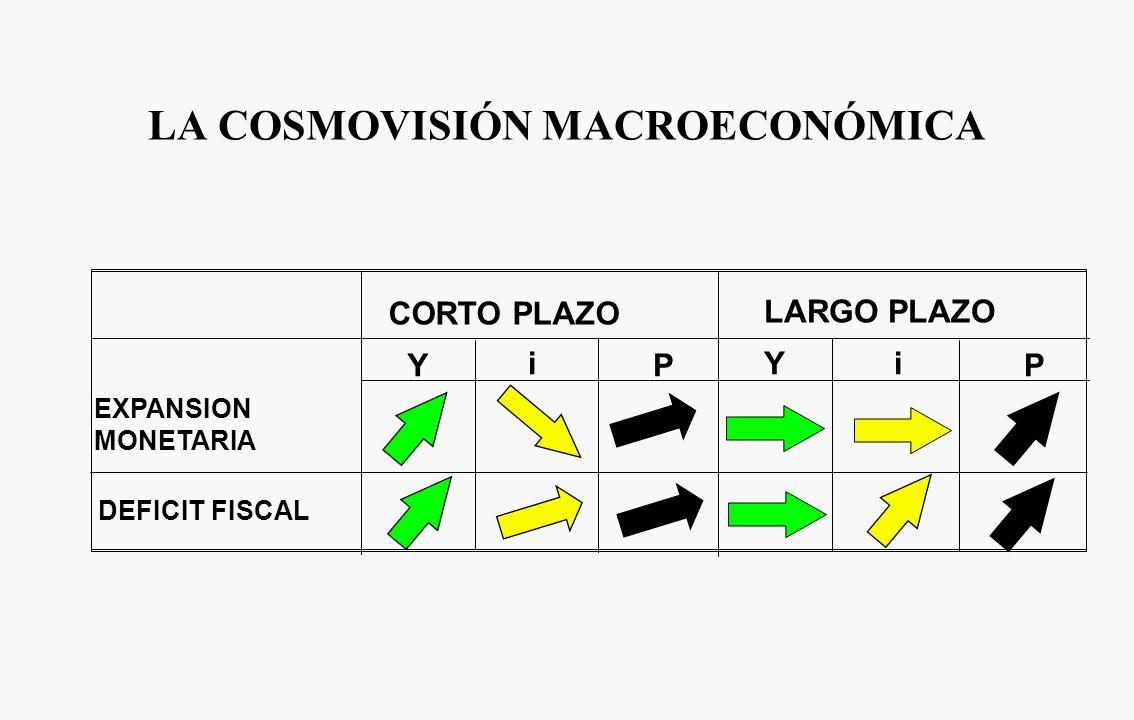 LA COSMOVISIÓN MACROECONÓMICA