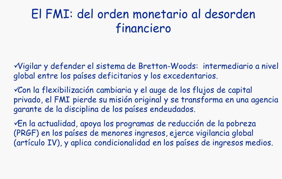 El FMI: del orden monetario al desorden financiero