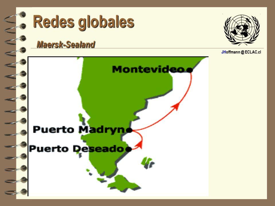 Redes globales Maersk-Sealand