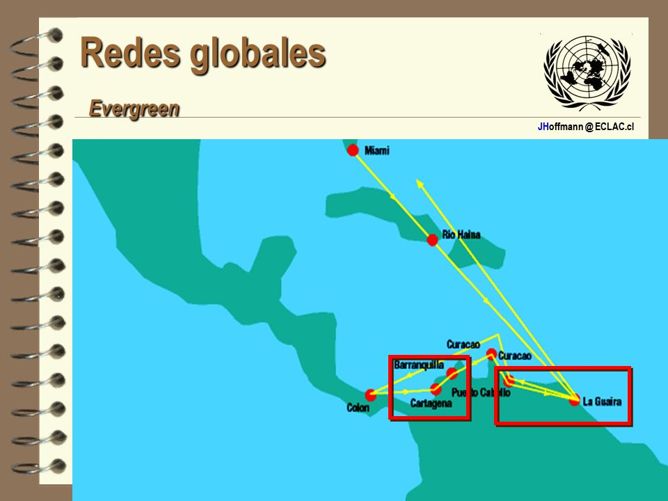Redes globales Evergreen