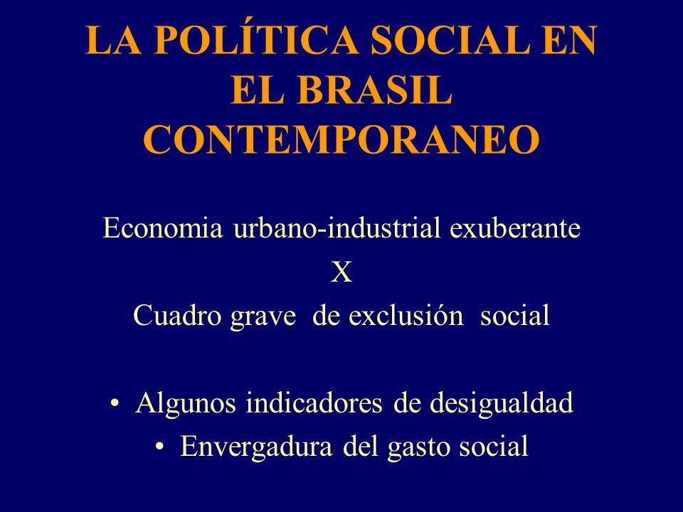 LA POLÍTICA SOCIAL EN EL BRASIL CONTEMPORANEO