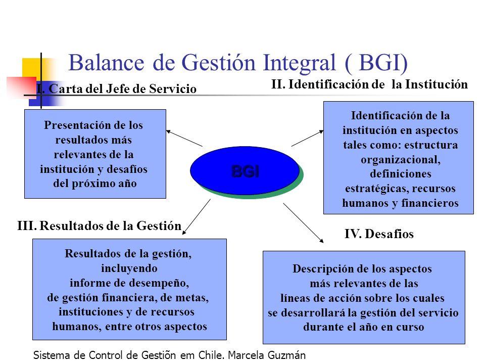 Balance de Gestión Integral ( BGI)