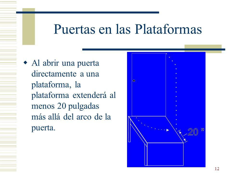 Puertas en las Plataformas