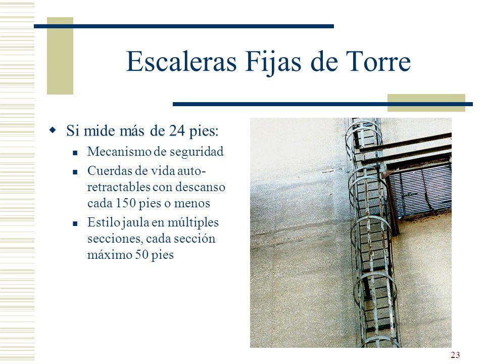 Escaleras Fijas de Torre
