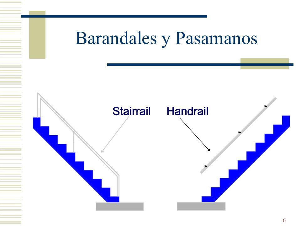 Barandales y Pasamanos