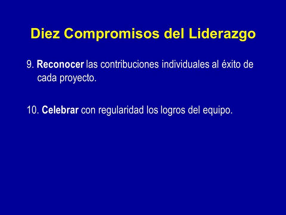 Diez Compromisos del Liderazgo